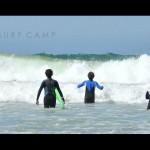 Урок серфинга в LX Surf Camp