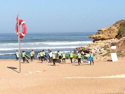 Урок серфинга в Blue Ocean Surf School