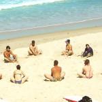 Йога в серфинг лагере Surf camp for you