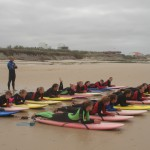 Уроки на песке в Alex Surf School
