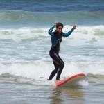 Первые успехи в серфинге с Surf Camp for You