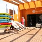 Здание серфинг школы Blue Ocean Surf School