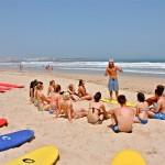 Лекция по серфингу на пляже от Surf Camp Fot You