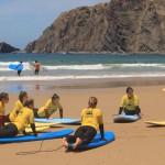 Серферская стойка от Arrifana Surf School