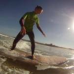 Первые успехи в серфинге с Alex Surf School