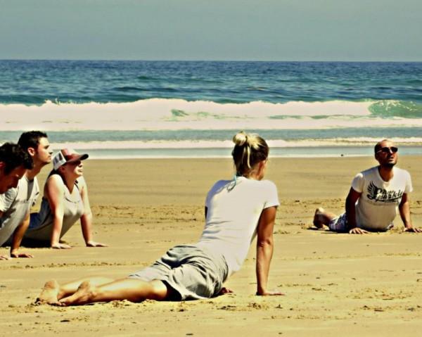 Тренировка в International Surf School