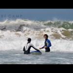 Серф сессия в воде LX Surf Camp